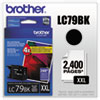 Brother LC79BK Extra High Yield Black Ink Cartridge