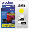 Brother LC79Y Extra High Yield Yellow Ink Cartridge