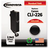 Remanufactured 4546b001aa (cli-226) Ink, Black