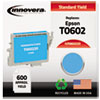 Remanufactured T060220 (60) Ink, Cyan