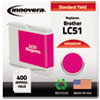 Remanufactured Lc51m Ink, Magenta