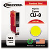 Remanufactured 06232b002 (cli-8) Ink, Yellow