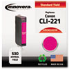 Remanufactured 2948b001 (cli-221) Ink, Magenta