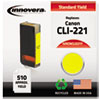 Remanufactured 2949b001 (cli-221) Ink, Yellow