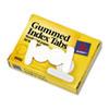 Gummed Index Tabs, 1/2 In, White, 50/pack