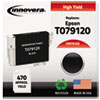 Remanufactured T079120 (79) High-Yield Ink, Black