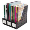 Literature File, Three Slots, Black