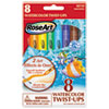 Watercolor Twist Ups, Assorted, 8 per set
