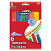 Washable Tempera Painters, Assorted, 6 per set 48344AA12