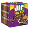 Smucker's® Jif To Go, Creamy Chocolate Silk, 1.5 oz Cup, 8/Box SMU24112