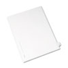 Allstate-Style Legal Exhibit Side Tab Divider, Title: B, Letter, White, 25/pack