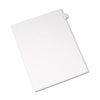 Allstate-Style Legal Exhibit Side Tab Divider, Title: C, Letter, White, 25/pack