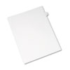 Allstate-Style Legal Exhibit Side Tab Divider, Title: E, Letter, White, 25/pack