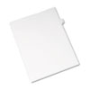 Allstate-Style Legal Exhibit Side Tab Divider, Title: G, Letter, White, 25/pack