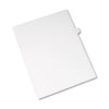 Allstate-Style Legal Exhibit Side Tab Divider, Title: I, Letter, White, 25/pack