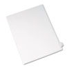 Allstate-Style Legal Exhibit Side Tab Divider, Title: Y, Letter, White, 25/pack