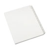 Allstate-Style Legal Exhibit Side Tab Dividers, 25-Tab,151-175, Letter, White