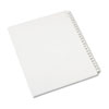 Allstate-Style Legal Exhibit Side Tab Dividers, 25-Tab, 176-200, Letter, White