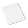 Allstate-Style Legal Exhibit Side Tab Dividers, 25-Tab, 201-225, Letter, White