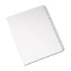 Allstate-Style Legal Exhibit Side Tab Dividers, 25-Tab, 276-300, Letter, White