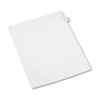 Allstate-Style Legal Exhibit Side Tab Divider, Title: 4, Letter, White, 25/pack