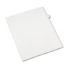 Allstate-Style Legal Exhibit Side Tab Divider, Title: 7, Letter, White, 25/pack