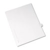 Allstate-Style Legal Exhibit Side Tab Divider, Title: 8, Letter, White, 25/pack