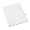 Allstate-Style Legal Exhibit Side Tab Divider, Title: 9, Letter, White, 25/Pack