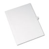 Allstate-Style Legal Exhibit Side Tab Divider, Title: 13, Letter, White, 25/pack
