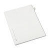 Allstate-Style Legal Exhibit Side Tab Divider, Title: 23, Letter, White, 25/pack