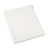 Allstate-Style Legal Exhibit Side Tab Divider, Title: 25, Letter, White, 25/pack