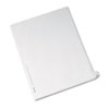 Allstate-Style Legal Exhibit Side Tab Divider, Title: 26, Letter, White, 25/pack