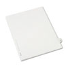 Allstate-Style Legal Exhibit Side Tab Divider, Title: 29, Letter, White, 25/pack