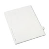 Allstate-Style Legal Exhibit Side Tab Divider, Title: 30, Letter, White, 25/pack