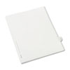 Allstate-Style Legal Exhibit Side Tab Divider, Title: 31, Letter, White, 25/pack