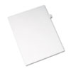 Allstate-Style Legal Exhibit Side Tab Divider, Title: 32, Letter, White, 25/pack