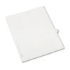 Allstate-Style Legal Exhibit Side Tab Divider, Title: 35, Letter, White, 25/pack
