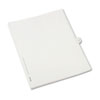 Allstate-Style Legal Exhibit Side Tab Divider, Title: 37, Letter, White, 25/pack