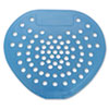 "Urinal Screen, 7 3/4""w x 6 7/8""h, Blue, Mint, Dozen"