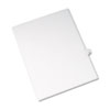 Allstate-Style Legal Exhibit Side Tab Divider, Title: 42, Letter, White, 25/pack