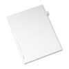 Allstate-Style Legal Exhibit Side Tab Divider, Title: 46, Letter, White, 25/pack