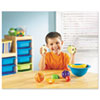 Smart Snacks Counting Fruit Bowl, Plas, Orange, Apple, Plum, Banana, Strawberry