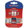 Verbatim - Flash memory card ( microSDHC to SD adapter included ), 4 GB, SDHC