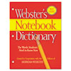 Notebook Dictionary, Three Hole Punched, Paperback, 80 Pages