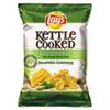 Kettle Cooked Jalapeno & Cheddar Chips, 1.375 oz Bag, 64/Carton 25111