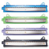 6-Sheet Binder Three-Hole Punch, 1/4 Holes, Assorted Colors