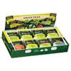 Green Tea Assortment, Tea Bags, 64/box, 6 Boxes/carton