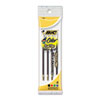 Refill For 4-Color Retractable Ballpoint, Medium, Blk, Be, Gn, Red Ink