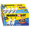 Picture of Desk-Style Dry Erase Marker Chisel Tip Assorted 24Pack
