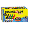 Pen Style Dry Erase Markers, Bullet Tip, Assorted, 24/Set